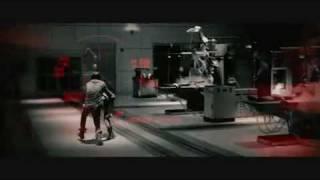 John Conner vs T-800 (salvation)