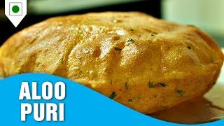 How To Cook Aloo Puri | आलू पूरी | Easy Cook Indian Food