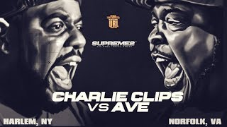 CHARLIE CLIPS VS AVE SMACK/ URL RAP BATTLE