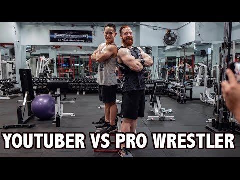 Xxx Mp4 Vlog 2 YouTuber Vs Pro Wrestler Ft WWE Sheamus 3gp Sex