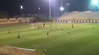 هدف فهد الجميعة الأول في المناورة بين الفريق الأول والفريق الأولمبي بنادي النصر