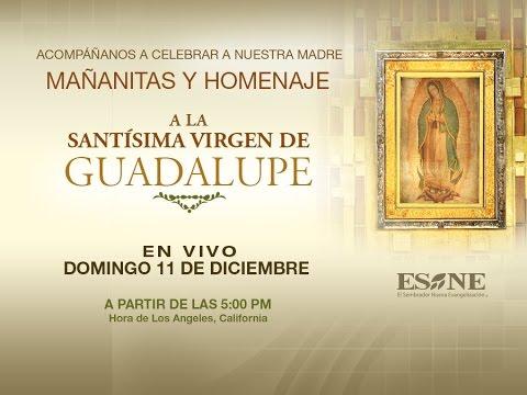 Mañanitas y homenaje a la Santísima Virgen de Guadalupe ESNE 12 de Diciembre 2016