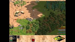 Age of Empires: The Rise of Rome - 1v7 Hard CPU's (Longplay)