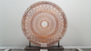 """Dream Scaffolding"" Woven Mandala"