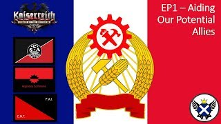 HOI4 Kaiserreich Commune of France EP1 - Aiding Our Potential Allies