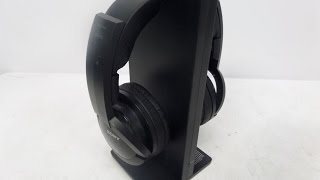 Unboxing with One Hand Sony Wireless Over-Ear Headphones (MDRRF985RK)