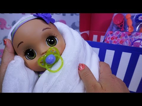 Xxx Mp4 BABY ALIVE Real As Can Be Baby Amp New Mommy Kit UNBOXING 3gp Sex