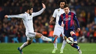 Lionel Messi All Goals In Order vs. Real Madrid