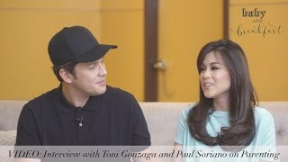 Interview with Toni Gonzaga and Paul Soriano on Parenting