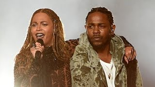 Beyonce and Kendrick Lamar Open 2016 BET Awards With Fiery Performance of 'Freedom'