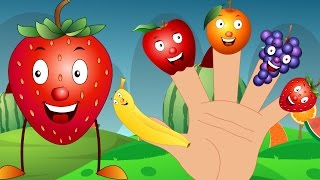 Fruits Finger Family | Song For Kids | Nursery Rhymes For Children