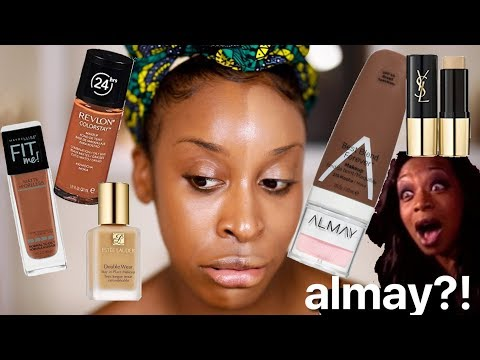 What Happens If I Try Foundations With the Same SHADE NAME Jackie Aina