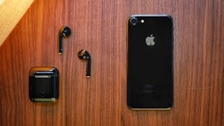 Jet Black Apple AirPods!