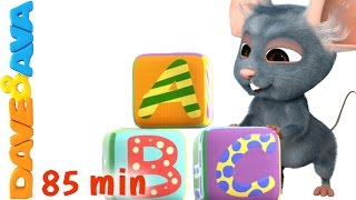 ABC Song Collection | Nursery Rhymes Collection and Baby Songs from Dave and Ava