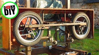 NEW Alloy Band Wheels - Homemade Sawmill #25