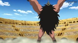 Lucy Vs Gigante Hairudin (Venganza by BULL) One Piece 644 Sub Esp