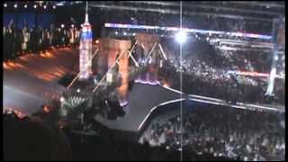 Wrestlemania 29 - Shawn Michaels Brock Lesnar and Triple H Entrances