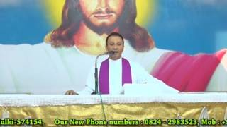 what is Eucharist ? talk in English by Fr.Anil Fernandes SVD at DCC Mulki