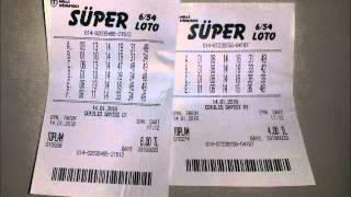 Süper Loto Tahmini - Oynadığım kupon ve tahmin hakkında 14 Ocak 2016