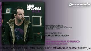 OUT NOW: Max Graham - Radio (Track 08: Max Graham feat. Jo Tabasco - Ceviche)