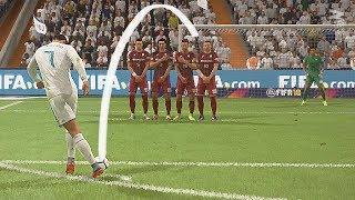 FIFA 18 Rabona Free Kick Tutorial