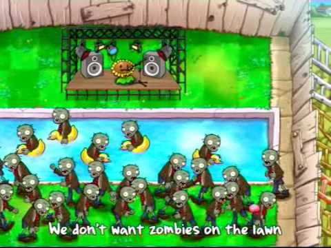 Plants Vs Zombies Musical Video
