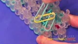 How To: Make the Rainbow Loom Single Band Bracelet