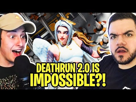 DeathRun 2.0 People are literally breaking things because of my Creative Mode Course