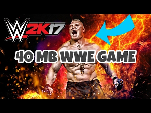 🔴HOW TO DOWNLOAD WWE 40 MB GAME IN YOUR ANDROID DEVICE
