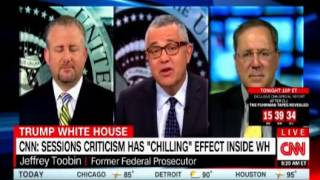 Panel discussion on the chilling effect on the WH after Trump attacked Sessions