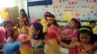 hawaiian dance janice bautista (grade2)