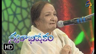 Thane Marena Song   Balasaraswathi,SP Balu Performance   Swarabhishekam   19th November 2017  ETV