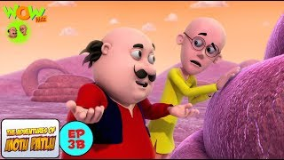 Antriksh Yatra - Motu Patlu in Hindi - WITH ENGLISH SUBTITLES!