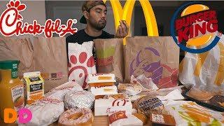 Ultimate Fast Food Breakfast Challenge