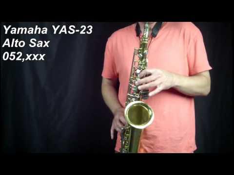 Yamaha YAS 23 Alto Sax 052xxx