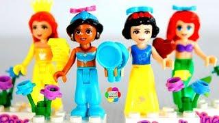 لعبة تجميع اميرات ديزنى للاطفال العاب تركيب المكعبات والشخصيات الكرتونية للبنات والاولاد