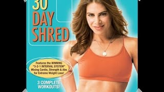 Mi rutina 30 Day Shred de Jillian Michael: nivel 1/Routine jillian michaels 30 day shred: level 1