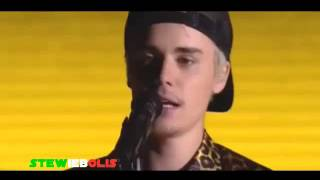 Justin Bieber Grammy Awards 2016 Grammy [Love Yourself & Where Are You Now]  LIVE