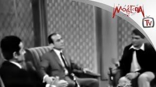 لقاء نادر بين عبدالحليم حافظ و فريد الأطرش و جلسة صلح