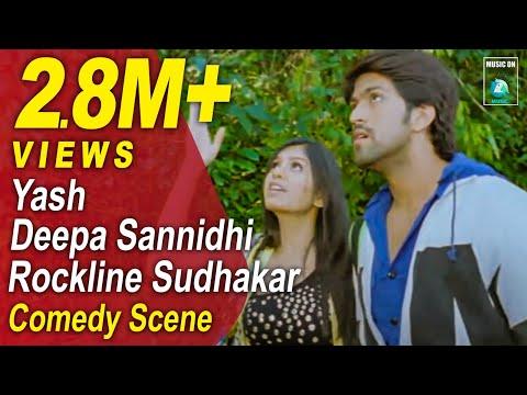Jaanu Kannada Movie Comedy Scenes 10 | Yash, Deepa Sannidhi, Rangayana Raghu