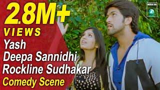 Jaanu Kannada Movie Comedy Scenes 10   Yash, Deepa Sannidhi, Rangayana Raghu