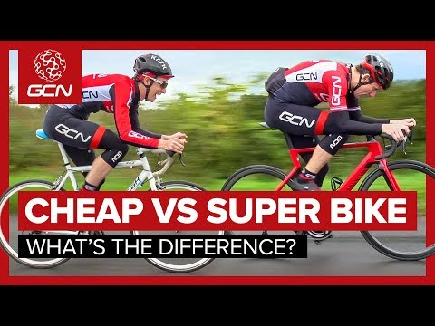 Cheap Bike Vs. Super Bike What s The Difference