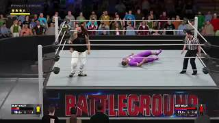 I JUST WANNA HIT ONE FU#%ING MOVE !!!! WWE 2K17 My Career Funny Moments