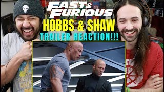 Fast & Furious: HOBBS & SHAW - Official TRAILER REACTION!!!