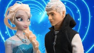 Queen Elsa Disney Frozen Meets Jack Frost Princess Anna Part 32 Dolls Series Video Love Spell