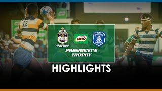 Match Highlights - St. Joseph's v St. Peter's Milo President's Final