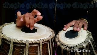 Tabla  बायां तबला में अंगुली   चलाने का सबसे आसान tatika