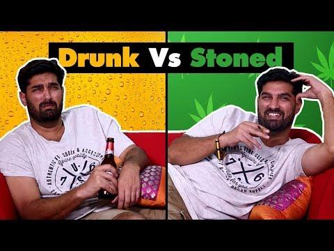 Xxx Mp4 Drunk Vs Stoned Things We All Do SpotboyE 3gp Sex