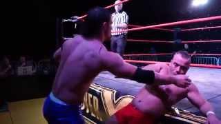 Discovery Wrestling - Liam Thomson Vs Martyn Stallyon