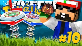 Minecraft: POKEMON!! #10 - THANKSGIVING GYM CHALLENGE!!